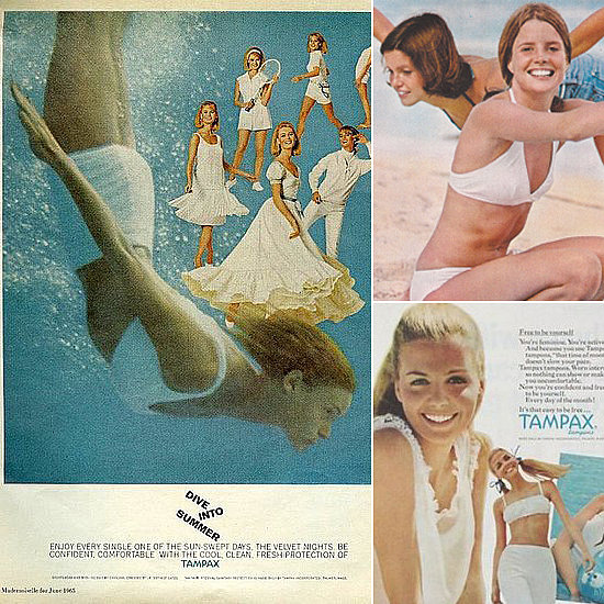 Tampon and Maxi Pad Ads: A Walk Down Memory Lane