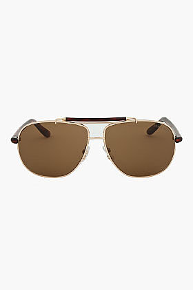 TOM FORD Brown Tortoiseshell Squared FT0243 Sunglasses