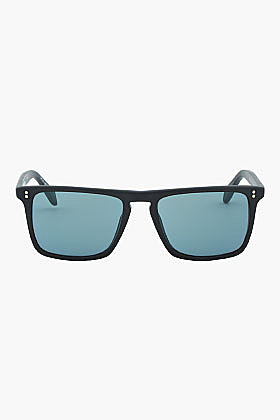 OLIVER PEOPLES Matte Black Square BERNARDO Sunglasses