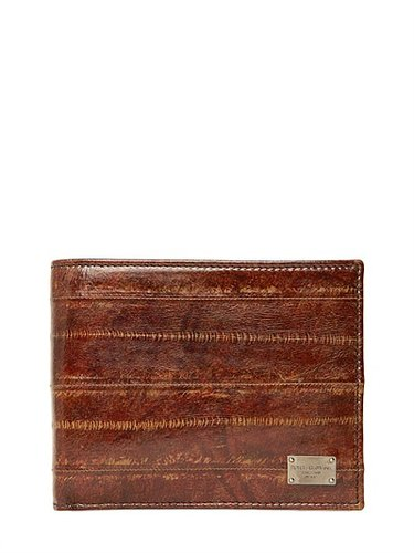 Delavé Eel Leather Coin Wallet