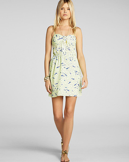 Slip into this BCBGeneration Shark Print dress ($49, originally $98) for a day at the beach.