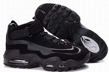 king griffey max i men shoes all black