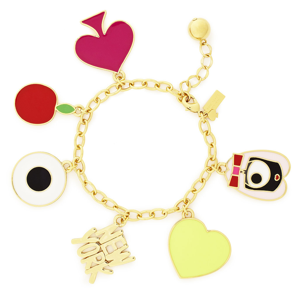 Embrace your city love with this dangly charm bracelet ($98). Photo courtesy of Kate Spade New York