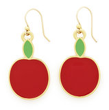 Take a bite out of the Big Apple with these sweet apple earrings ($48). Photo courtesy of Kate Spade New York