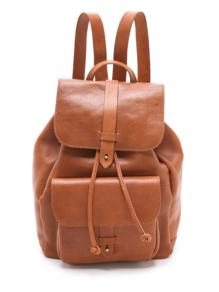 Pair your preppy pieces with Madewell's Leather Rucksack ($248).