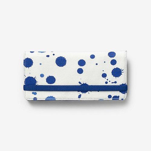 Fantastic Elastic Wallet in Splatter Paint