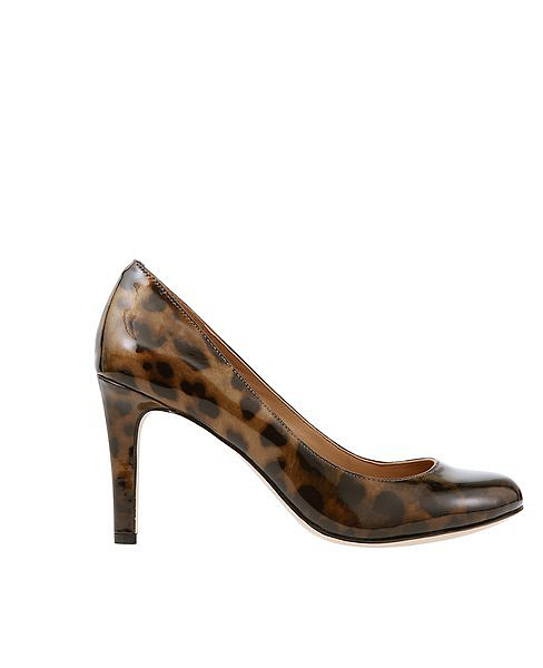 Leopard Print Patent Leather Perfect Pumps ($128)