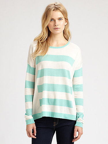 Design History Striped Boyfriend Sweater