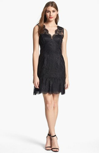 Adrianna Papell Chantilly Lace Dress