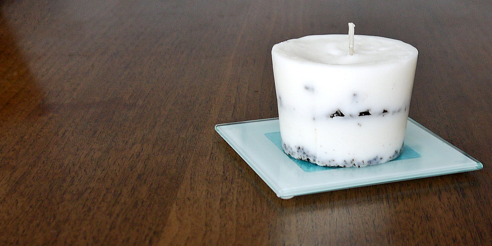 Don't Toss That Cup! DIY Coffee Candles