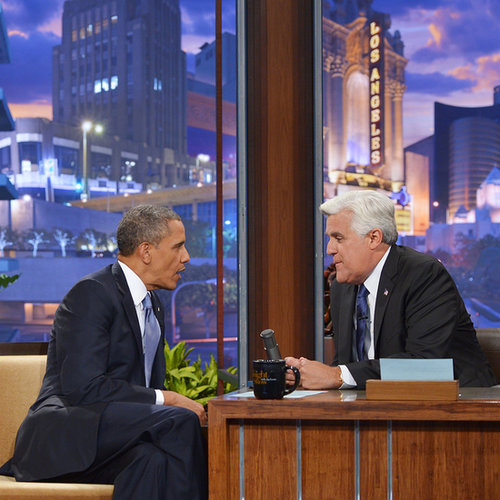 President Barack Obama on The Tonight Show 2013