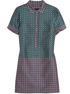 J. Crew Silk Jacquard Shirt Dress | Review