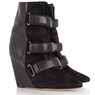 Isabel Marant Scarlet Wedge Boots Fall 2013
