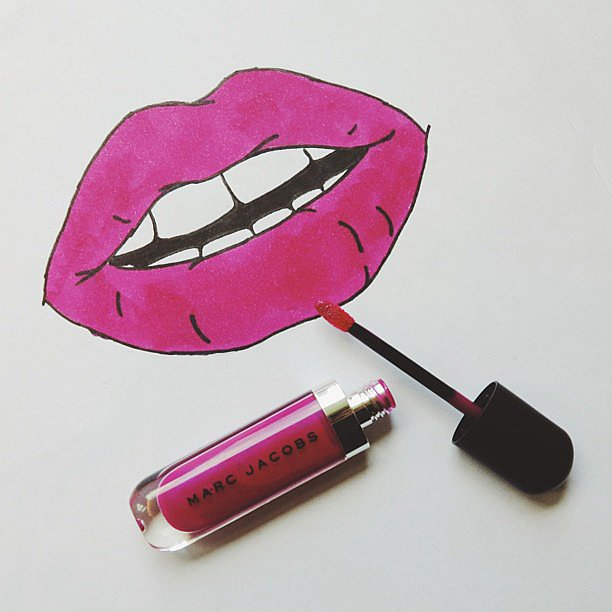 Marc Jacobs gave us the kind of lip service we can get behind. Source: Instagram user marcjacobsintl