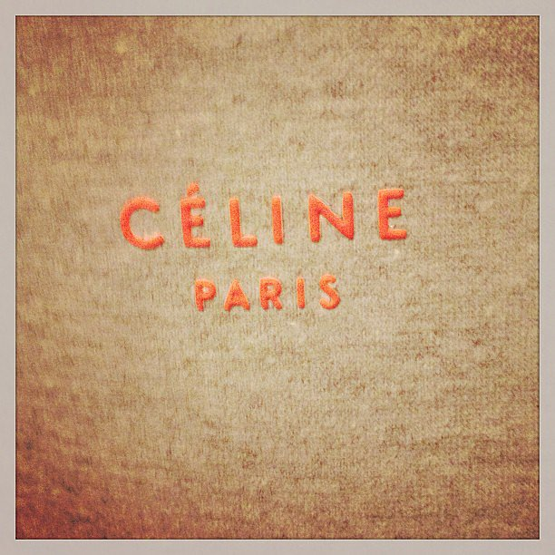 Celine's eco tote is stylish and conscious. Source: Instagram user askmrmickey