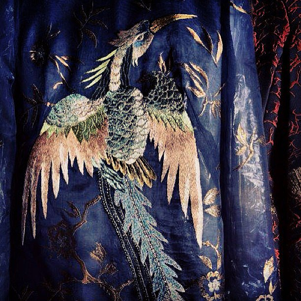 We got closer than ever to Valentino Haute Couture thanks to Instagram. Source: Instagram user maisonvalentino