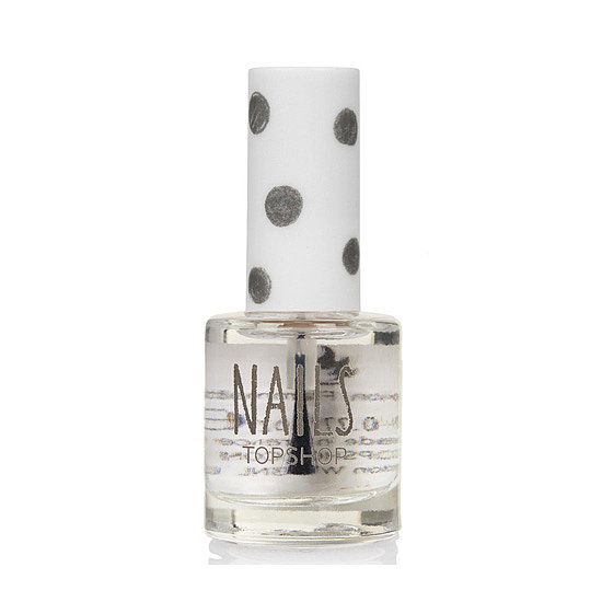 Make DIY manicures even more polished with Topshop's Top & Base Coat ($10).