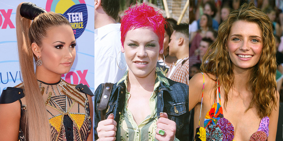 Throwback Thursday: Relive Some of the Best Teen Choice Awards Beauty