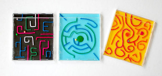 CD Case Labyrinth Game