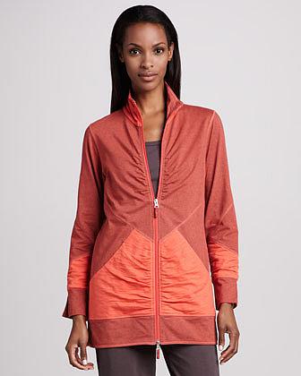 Neon Buddha Long Zip Jacket