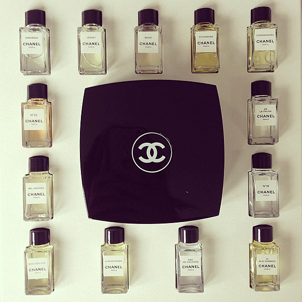 That's quite a collection! Poppy Delevingne showed off her beautiful collection of Chanel.  Source: Instagram user poppydelevingne
