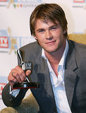 Chris won the Silver Logie for most popular new male talent at the Logies in May 2005.