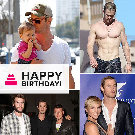 30 Hot (and Adorable!) Pictures of Chris Hemsworth