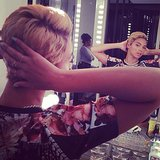 Beyoncé shared a snap of her new close-cropped 'do. Source: Instagram user beyonce