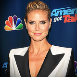 Heidi Klum in a Suit For America's Got Talent | Video