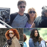Zach Braff, Kate Hudson, Jenna Dewan, and More Stars on Set
