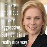 Take a cue from from NY Senator Kirsten Gillibrand. Source: Instagram user popsugarlove