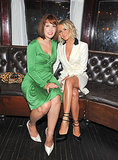 Director Diablo Cody sat with actress Julianna Hough at the premiere for their new film, Paradise, on August 6.