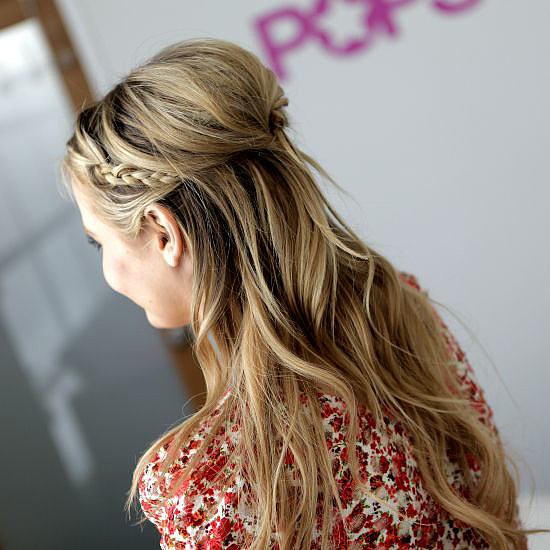 Rachel Bilson's braided hairstyle is only a few minutes away if you watch our celebrity hair tutorial. Our followers did!