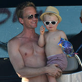 Neil Patrick Harris and David Burtka in Saint-Tropez