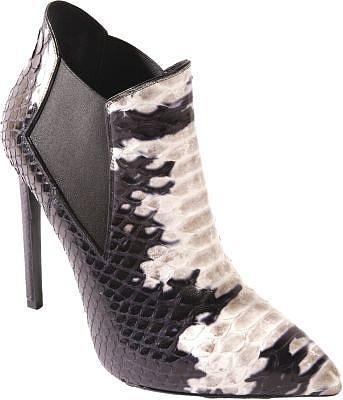 Saint Laurent Python Paris Ankle Boot