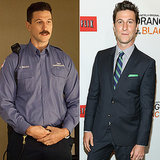 "Pablo Schreiber (George ""Pornstache"" Mendez) Source: Getty, Netflix"