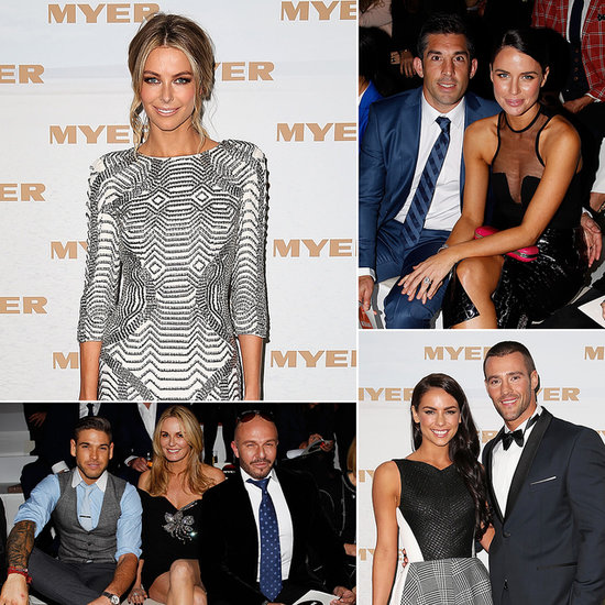 Stylish Stars Turn Out For Myer's Spring/Summer 2014 Fashion Launch
