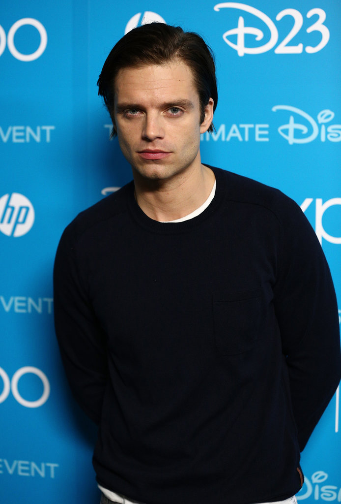 Sebastian Stan attended the 2013 Disney D23 Expo in LA.
