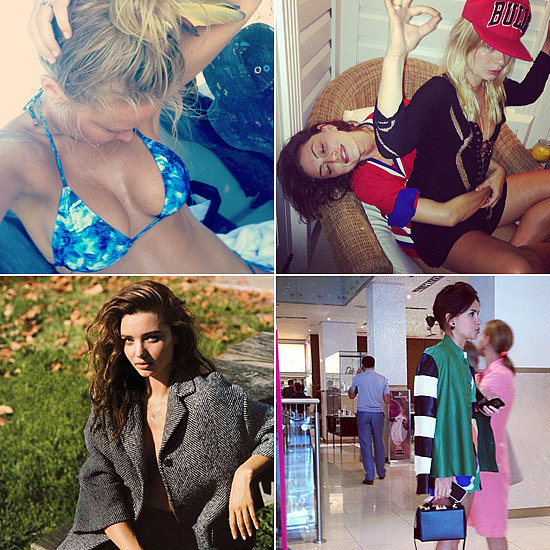 Fashion & Beauty Candids: Phoebe, Miroslava, Miranda & More!
