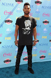 Miguel attended the 2013 Teen Choice Awards.