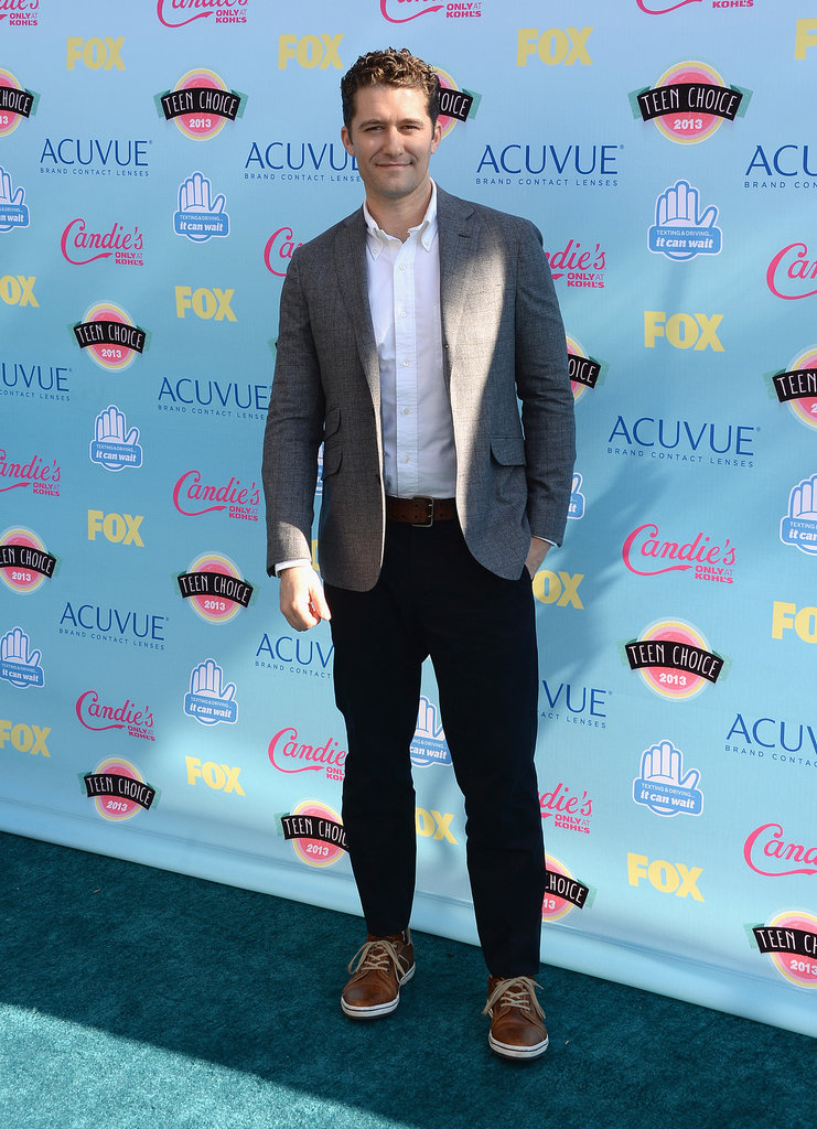 Matthew Morrison attended the 2013 Teen Choice Awards.