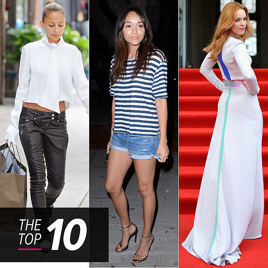 Top 10 Best Dressed: White, Stripes, and Legs For Days
