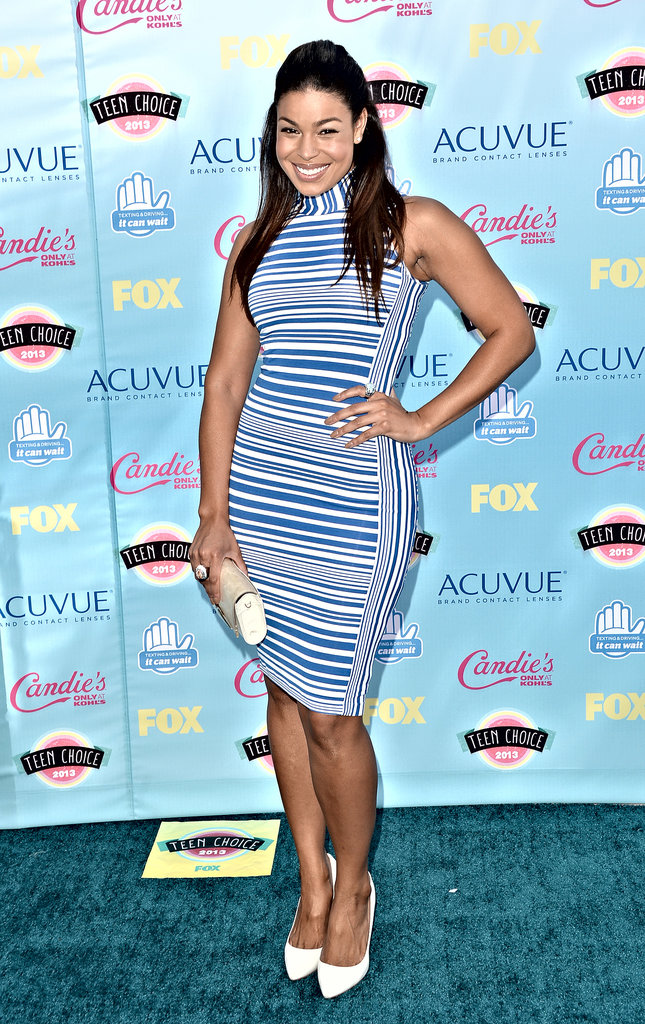 Jordin Sparks attended the 2013 Teen Choice Awards.
