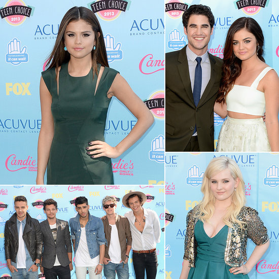 See the Red Carpet Arrivals at the 2013 Teen Choice Awards