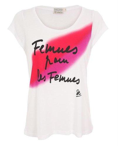 HARPER'S BAZAAR BY BROWNS Sonia Rykiel Women for Women T-shirt
