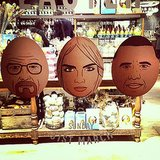 """Who you calling an """"egg head""""? Source: Instagram user caradelevingne"""