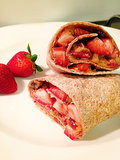 Peanut Butter and Jelly Burrito Source: The Kitchen Creative