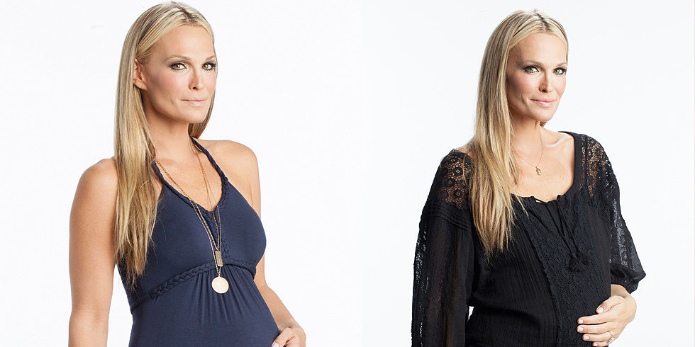 Molly Sims Enters the Maternity Market With Stork & Babe