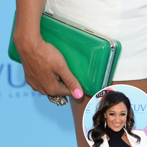 Pink was a popular choice at the Teen Choice Awards, with Tamera Mowry opting for a bubblegum hue.