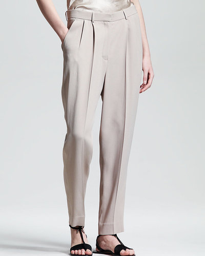 THE ROW Pleated Suit Pants